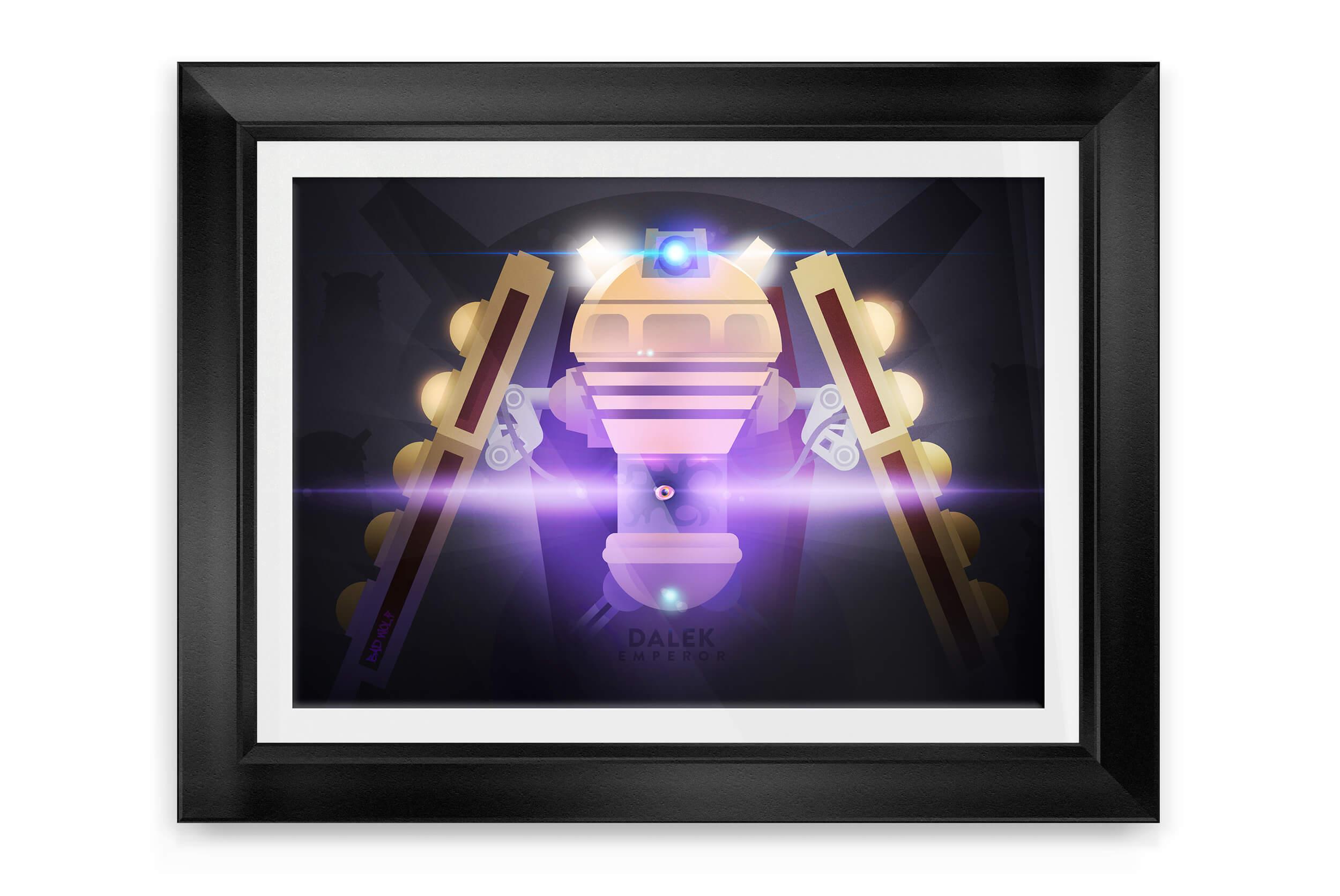 emperor dalek framed